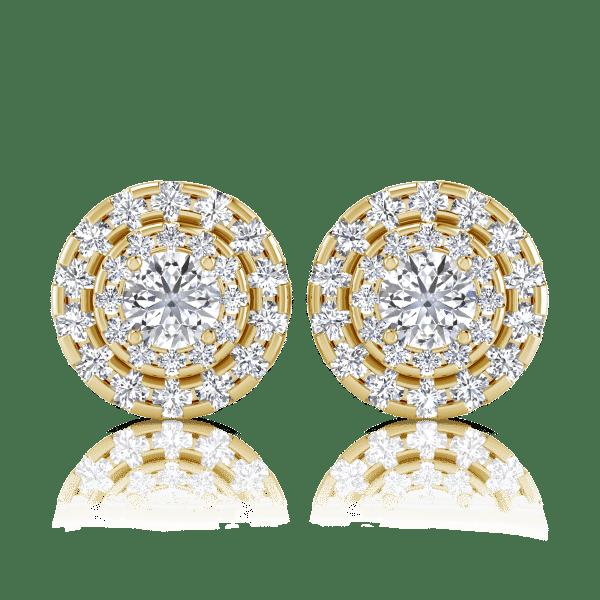 עגילי דין יהלומי מעבדה. עגילי דין מהממים ומיוחדים מאוד מבית בריליינט שיין Briliiant Shine משובצים בכ קראט יהלומי מעבדה טבעיים AS GROWN , מתאימים ליום יום ולכל אירוע מיוחד, סט מרשים לכל אישה. ניתן להזמין את העגילים בזהב לבן, צהוב או אדום.