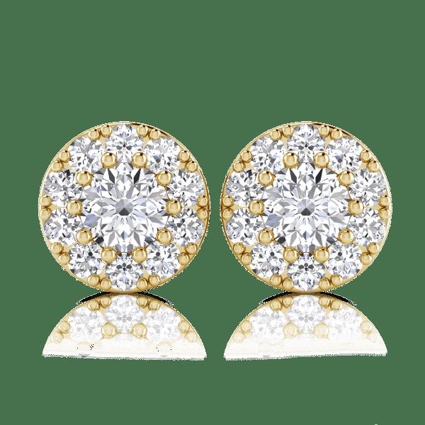 עגילי ברי מהממים ומיוחדים מאוד מבית בריליינט שיין Briliiant Shine משובצים ב 0.50 קראט יהלומי מעבדה טבעיים AS GROWN , העגילים מתאימים לכל אירוע וליום יום, סט חובה לכל אישה במגירת התכשיטים. ניתן להזמין את העגילים בזהב לבן, צהוב או אדום.